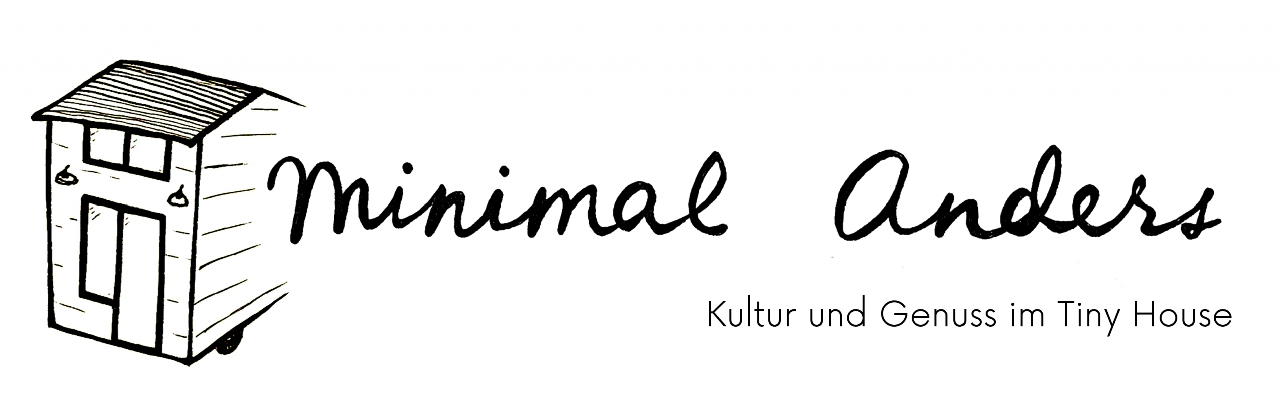 Tiny House Bayern Logo Minimal Anders