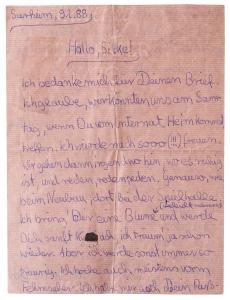 Sammlung der Liebesobjekte_Liebesbrief rosa