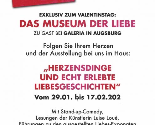 Ausstellung_Museum der Liebe_Kunst im Kaufhaus_Augsburg_1