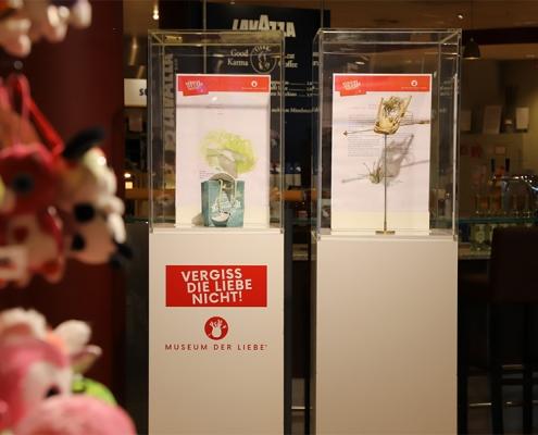 Ausstellung bei Karstadt