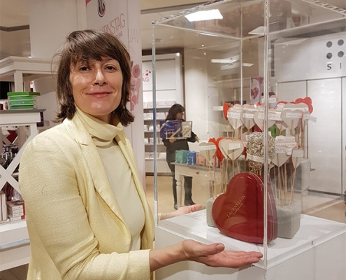 Luise Loué präsentiert ihre Ausstellung