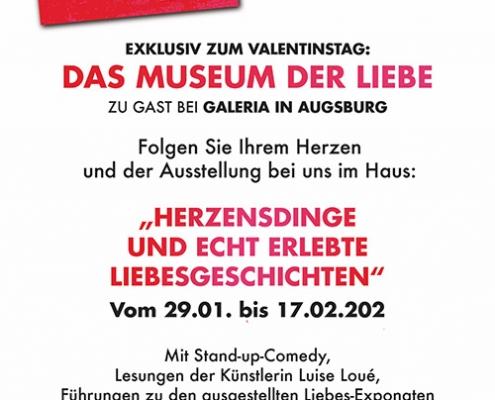 Programmzettel Galeria Karstadt