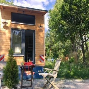 Minihaus auf Rädern