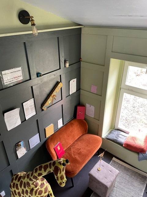 sofa Kunstwerke tiny house